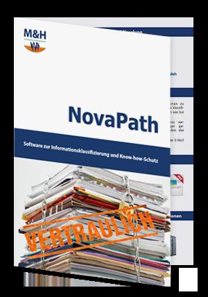 Darstellung NovaPath-Faltflyer